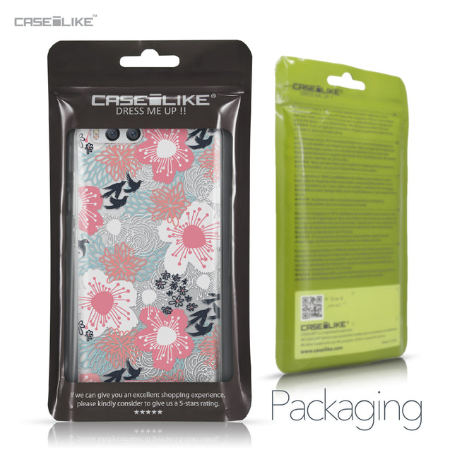 Xiaomi Mi 6 case Japanese Floral 2255 Retail Packaging | CASEiLIKE.com