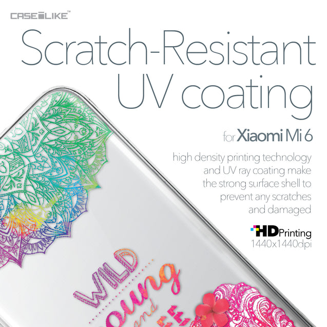 Xiaomi Mi 6 case Mandala Art 2302 with UV-Coating Scratch-Resistant Case | CASEiLIKE.com