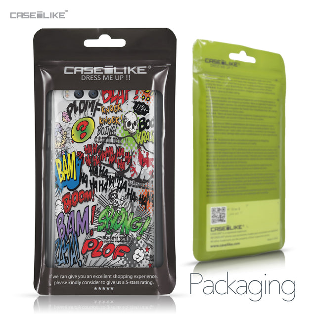 Xiaomi Mi 6 case Comic Captions 2914 Retail Packaging | CASEiLIKE.com