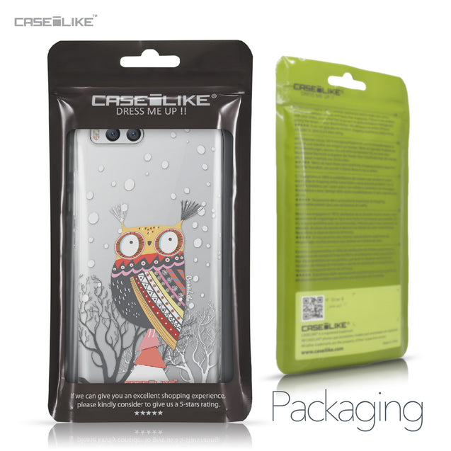 Xiaomi Mi 6 case Owl Graphic Design 3317 Retail Packaging | CASEiLIKE.com