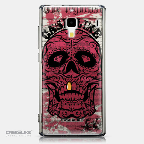 CASEiLIKE Xiaomi Redmi back cover Art of Skull 2523
