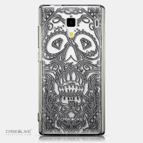 CASEiLIKE Xiaomi Redmi back cover Art of Skull 2524