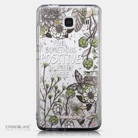 CASEiLIKE Xiaomi Redmi 2 back cover Blooming Flowers 2250