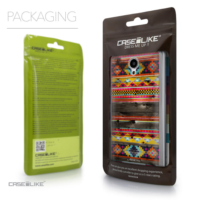 Packaging - CASEiLIKE Xiaomi Redmi Note 2 back cover Indian Tribal Theme Pattern 2048