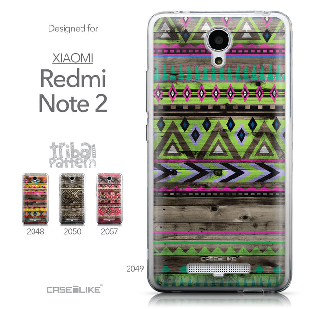 Collection - CASEiLIKE Xiaomi Redmi Note 2 back cover Indian Tribal Theme Pattern 2049
