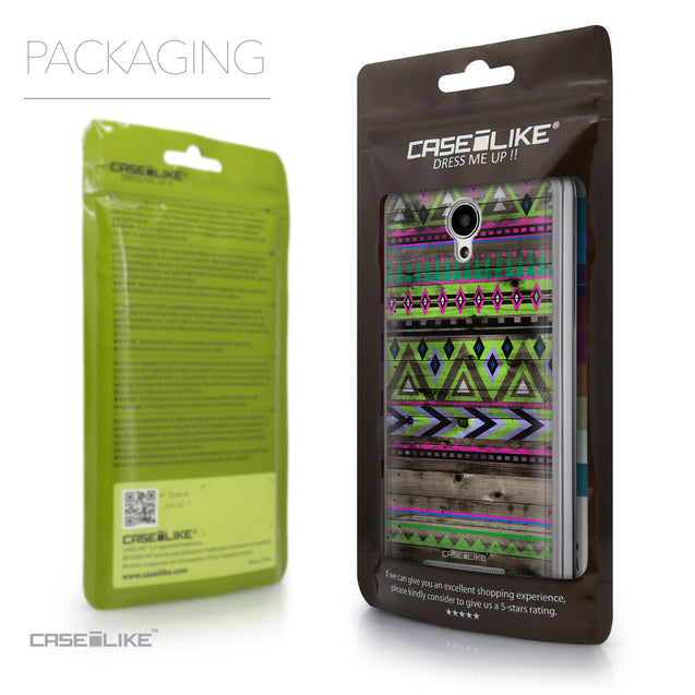 Packaging - CASEiLIKE Xiaomi Redmi Note 2 back cover Indian Tribal Theme Pattern 2049