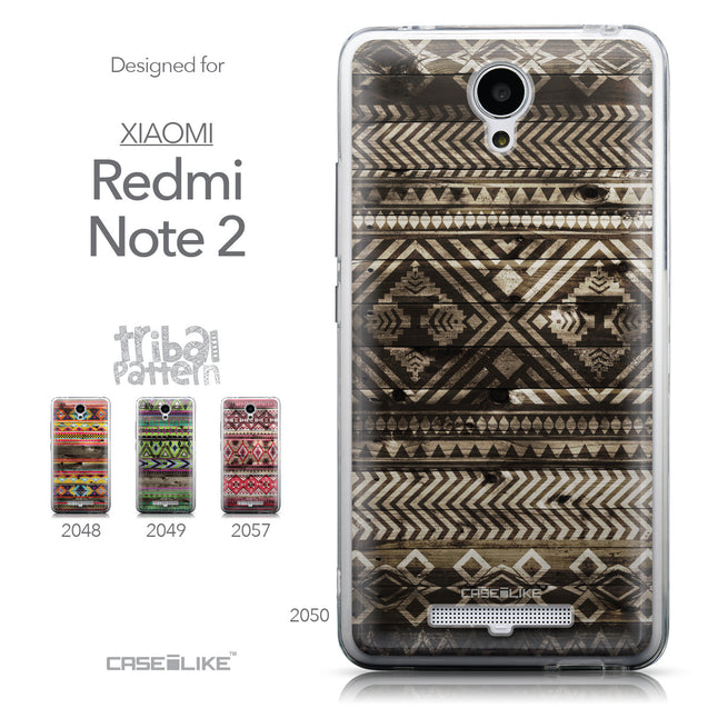 Collection - CASEiLIKE Xiaomi Redmi Note 2 back cover Indian Tribal Theme Pattern 2050