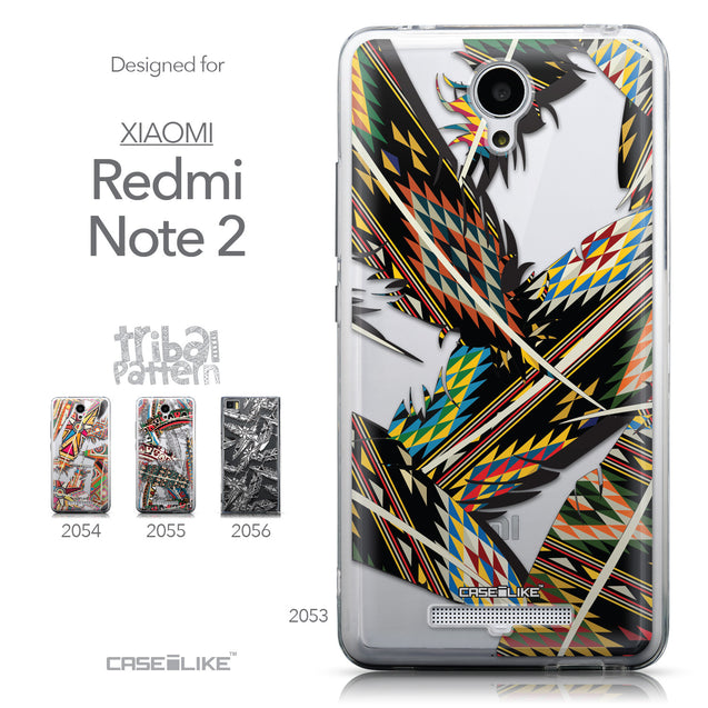 Collection - CASEiLIKE Xiaomi Redmi Note 2 back cover Indian Tribal Theme Pattern 2053