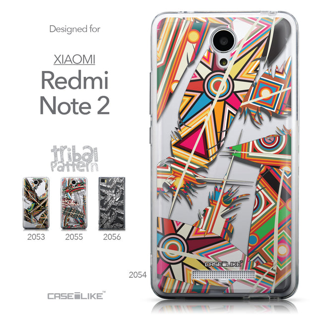 Collection - CASEiLIKE Xiaomi Redmi Note 2 back cover Indian Tribal Theme Pattern 2054