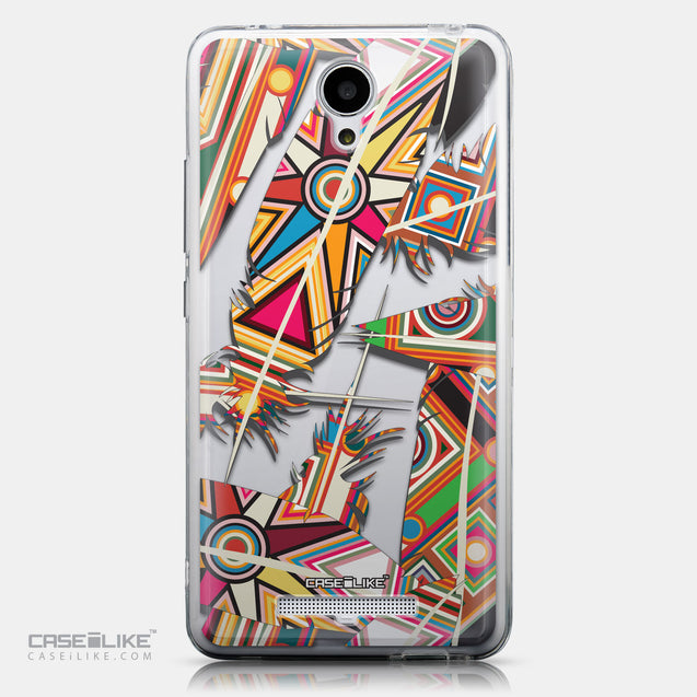 CASEiLIKE Xiaomi Redmi Note 2 back cover Indian Tribal Theme Pattern 2054