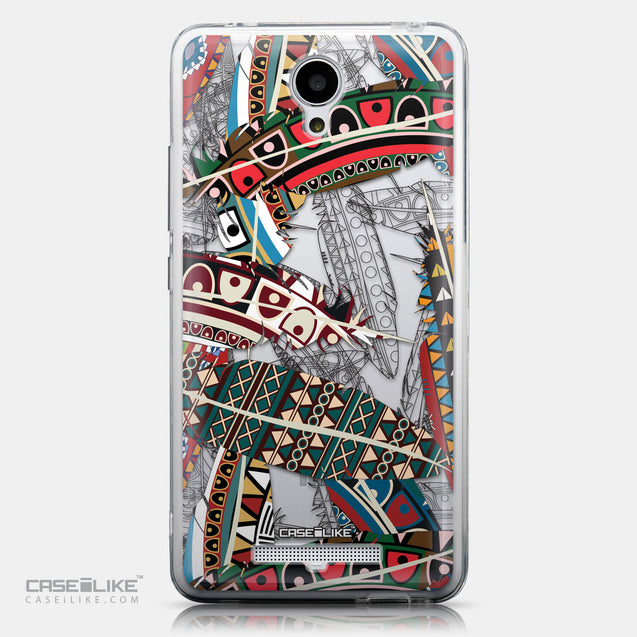CASEiLIKE Xiaomi Redmi Note 2 back cover Indian Tribal Theme Pattern 2055