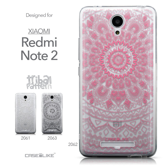 Collection - CASEiLIKE Xiaomi Redmi Note 2 back cover Indian Line Art 2062