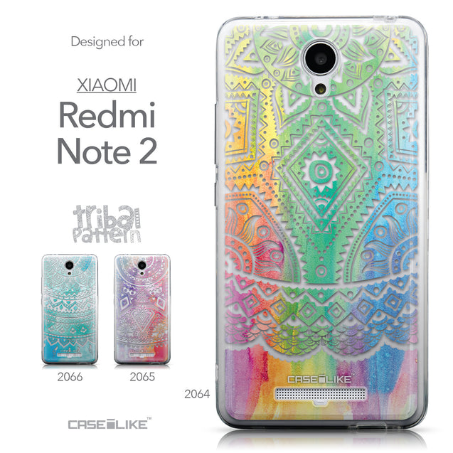 Collection - CASEiLIKE Xiaomi Redmi Note 2 back cover Indian Line Art 2064