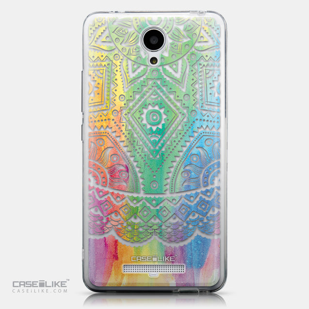 CASEiLIKE Xiaomi Redmi Note 2 back cover Indian Line Art 2064