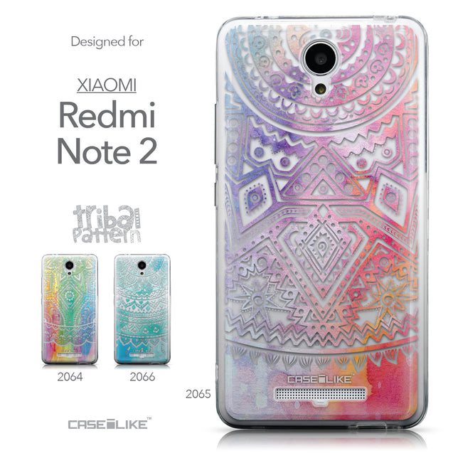 Collection - CASEiLIKE Xiaomi Redmi Note 2 back cover Indian Line Art 2065