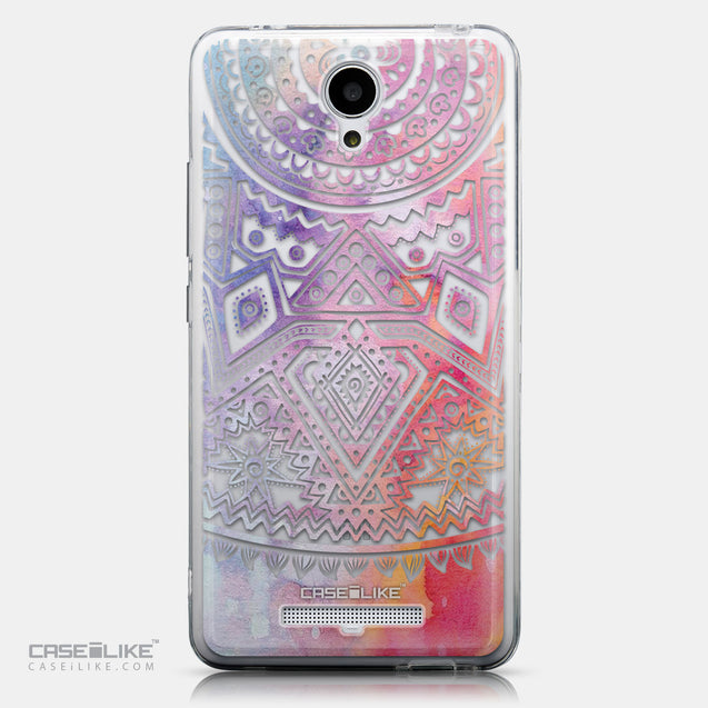 CASEiLIKE Xiaomi Redmi Note 2 back cover Indian Line Art 2065