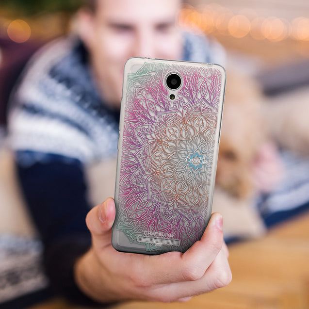 Share - CASEiLIKE Xiaomi Redmi Note 2 back cover Mandala Art 2090