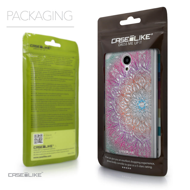 Packaging - CASEiLIKE Xiaomi Redmi Note 2 back cover Mandala Art 2090