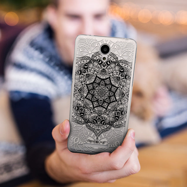 Share - CASEiLIKE Xiaomi Redmi Note 2 back cover Mandala Art 2097