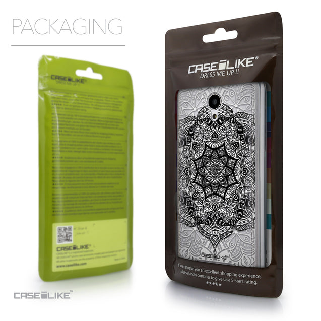 Packaging - CASEiLIKE Xiaomi Redmi Note 2 back cover Mandala Art 2097