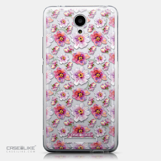 CASEiLIKE Xiaomi Redmi Note 2 back cover Watercolor Floral 2232