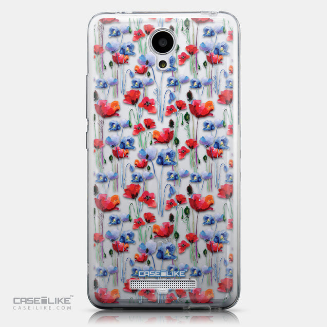 CASEiLIKE Xiaomi Redmi Note 2 back cover Watercolor Floral 2233