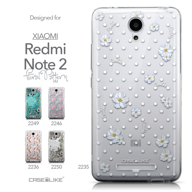 Collection - CASEiLIKE Xiaomi Redmi Note 2 back cover Indian Line Art 2061