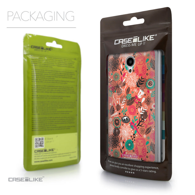 Packaging - CASEiLIKE Xiaomi Redmi Note 2 back cover Spring Forest Pink 2242