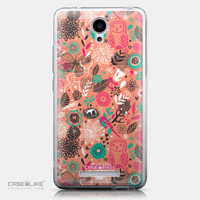 CASEiLIKE Xiaomi Redmi Note 2 back cover Spring Forest Pink 2242