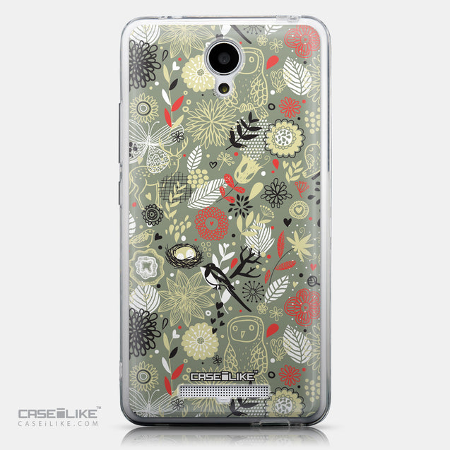CASEiLIKE Xiaomi Redmi Note 2 back cover Spring Forest Gray 2243