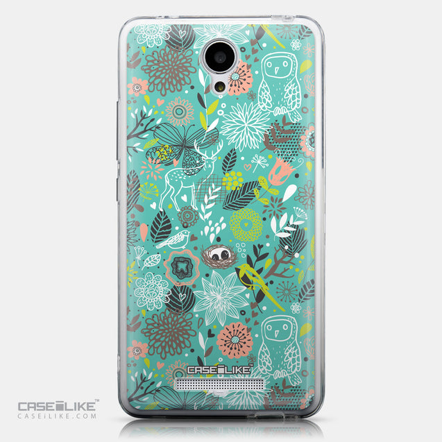 CASEiLIKE Xiaomi Redmi Note 2 back cover Spring Forest Turquoise 2245