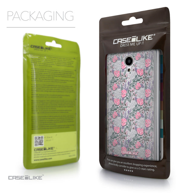 Packaging - CASEiLIKE Xiaomi Redmi Note 2 back cover Flowers Herbs 2246