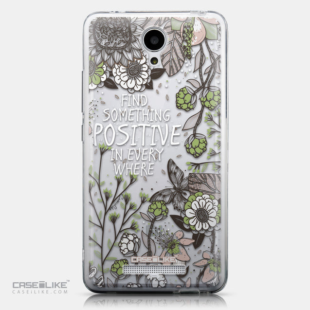 CASEiLIKE Xiaomi Redmi Note 2 back cover Blooming Flowers 2250