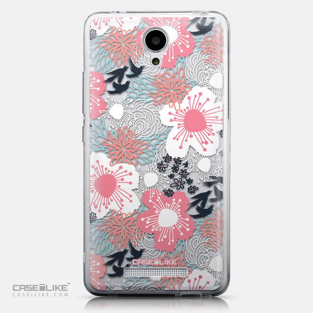 CASEiLIKE Xiaomi Redmi Note 2 back cover Japanese Floral 2255