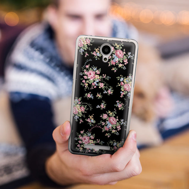 Share - CASEiLIKE Xiaomi Redmi Note 2 back cover Floral Rose Classic 2261