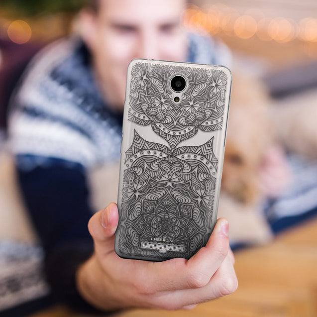 Share - CASEiLIKE Xiaomi Redmi Note 2 back cover Mandala Art 2304