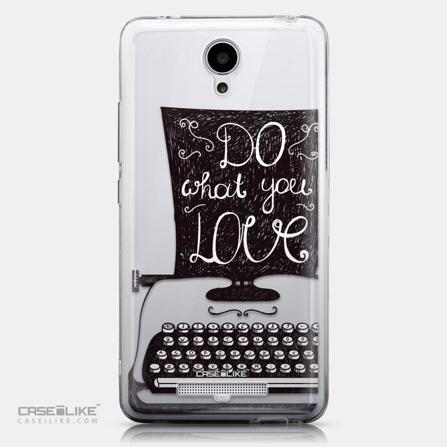 CASEiLIKE Xiaomi Redmi Note 2 back cover Quote 2400