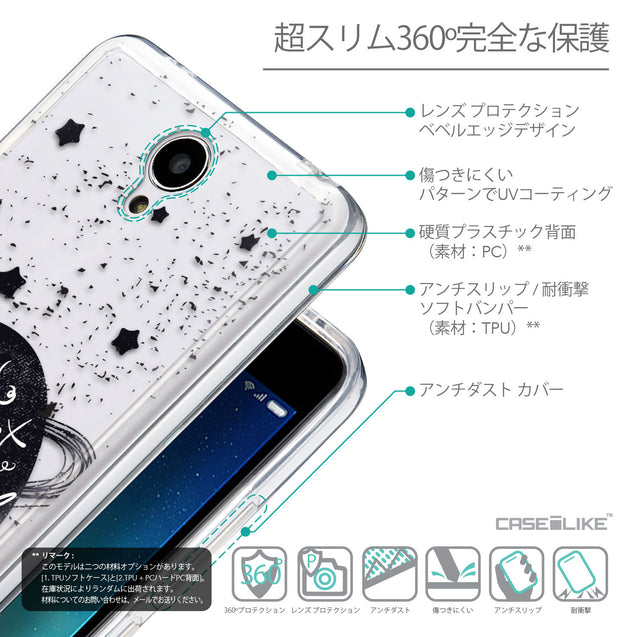 Details in Japanese - CASEiLIKE Xiaomi Redmi Note 2 back cover Quote 2401