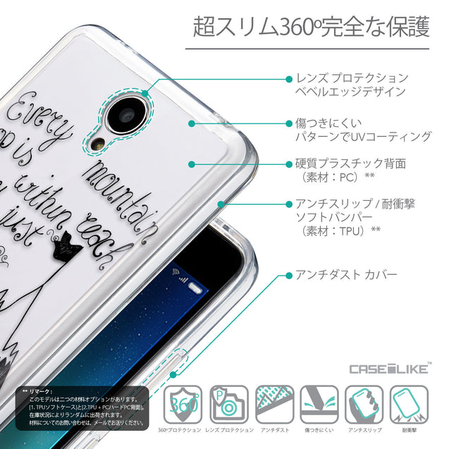 Details in Japanese - CASEiLIKE Xiaomi Redmi Note 2 back cover Indian Tribal Theme Pattern 2053