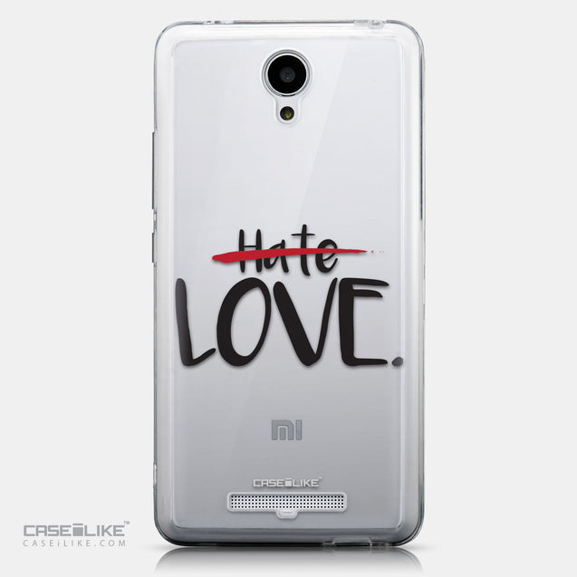 CASEiLIKE Xiaomi Redmi Note 2 back cover Quote 2406