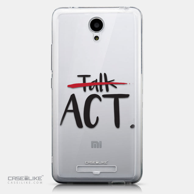 CASEiLIKE Xiaomi Redmi Note 2 back cover Quote 2408