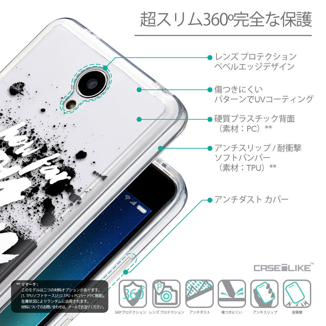 Details in Japanese - CASEiLIKE Xiaomi Redmi Note 2 back cover Quote 2413