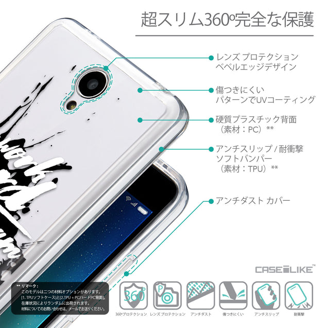 Details in Japanese - CASEiLIKE Xiaomi Redmi Note 2 back cover Quote 2414