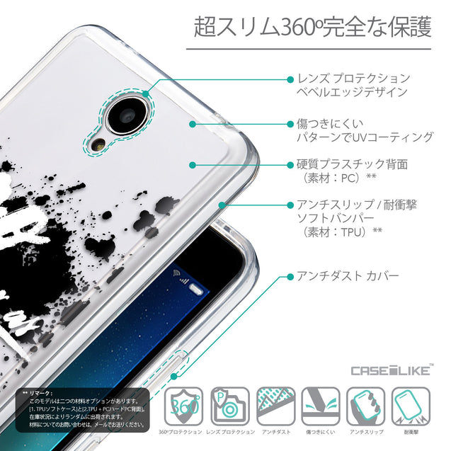 Details in Japanese - CASEiLIKE Xiaomi Redmi Note 2 back cover Quote 2415