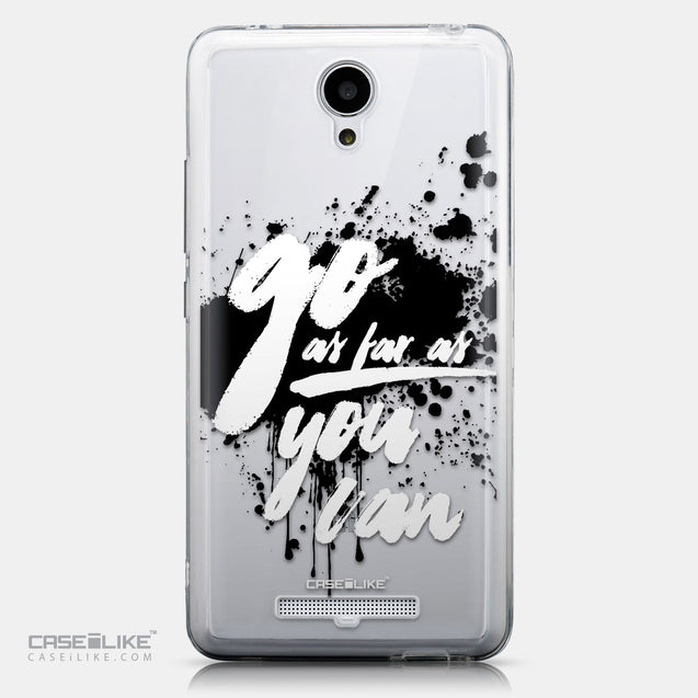 CASEiLIKE Xiaomi Redmi Note 2 back cover Quote 2415