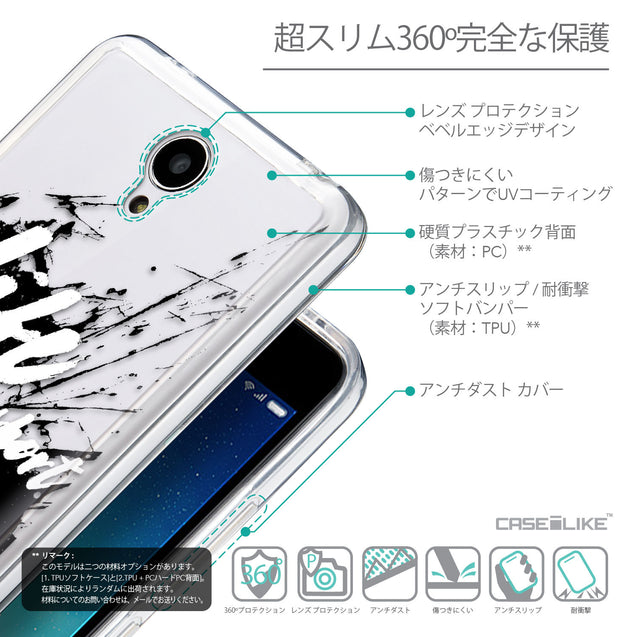 Details in Japanese - CASEiLIKE Xiaomi Redmi Note 2 back cover Quote 2416