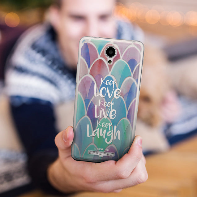 Share - CASEiLIKE Xiaomi Redmi Note 2 back cover Quote 2417