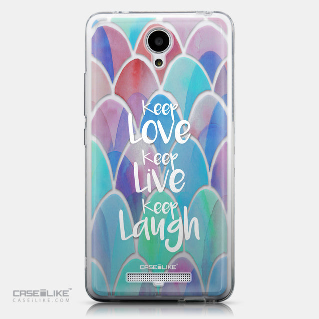 CASEiLIKE Xiaomi Redmi Note 2 back cover Quote 2417