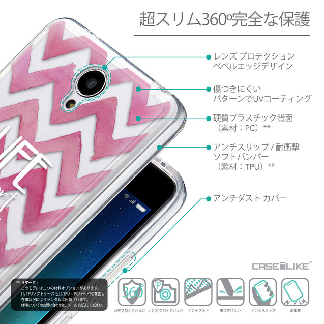 Details in Japanese - CASEiLIKE Xiaomi Redmi Note 2 back cover Quote 2419