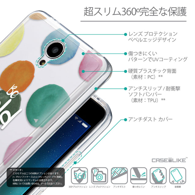Details in Japanese - CASEiLIKE Xiaomi Redmi Note 2 back cover Quote 2420